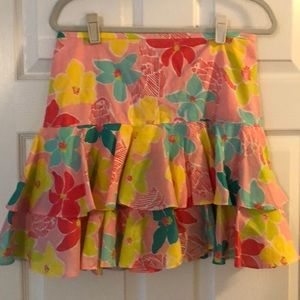 Floral Lilly Pulitzer Skirt!